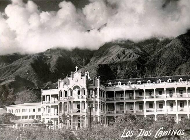 Vista del edificio en 1965