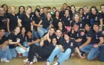Familia CDCH-UCV celebró torneo de bowling en su 53 Aniversario