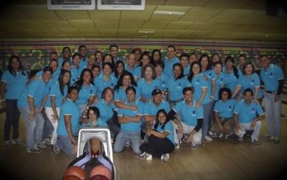 Familia CDCH celebró su aniversario con Torneo de Bowling