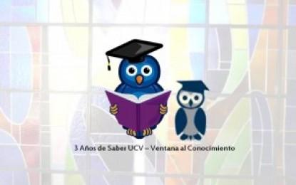 Saber UCV 3 años de visibilidad y éxitos!