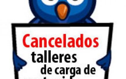 Cancelados talleres de carga de contenidos para profesores UCV