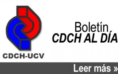 Boletín CDCH Al Día No. 111