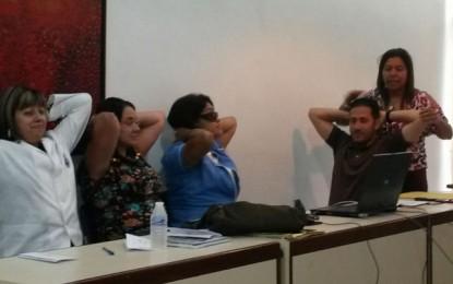 CDCH-UCV recibe taller sobre Higiene Postural