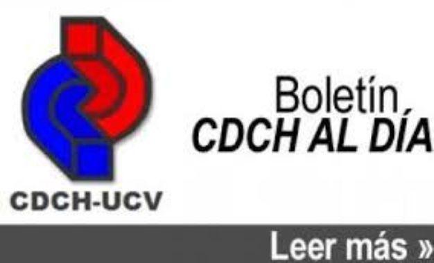 Boletin CDCH Al Día No. 143