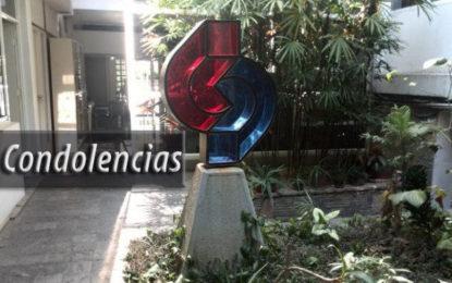 Condolencias CDCH: Prof. Marcelo Alfonzo Rosas