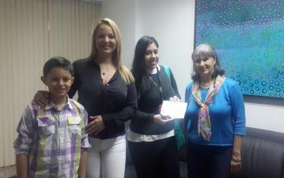La Fundación Amigos del Niño con Cáncer recibió  aporte de Responsabilidad Social