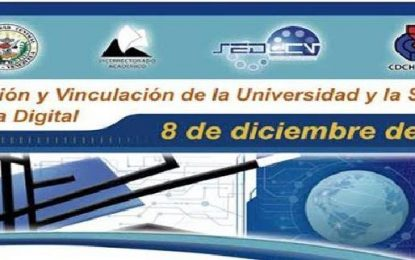 Evento Innovación y Vinculación de la Universidad y la Sociedad en la Era Digital