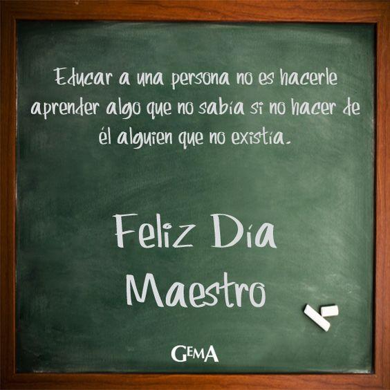 """15 de Enero """"Día del Maestro"""""""