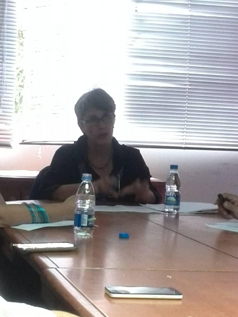 Presentación del Trabajo de Ascenso para Profesor Titular de la Profa. Aura Marina Boadas