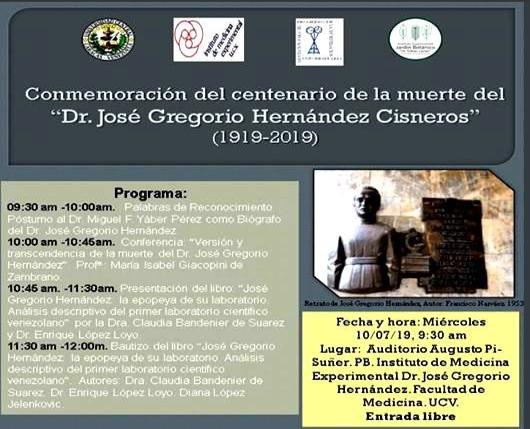 Conmemoración de la Muerte del Dr. José Gregorio Hernández