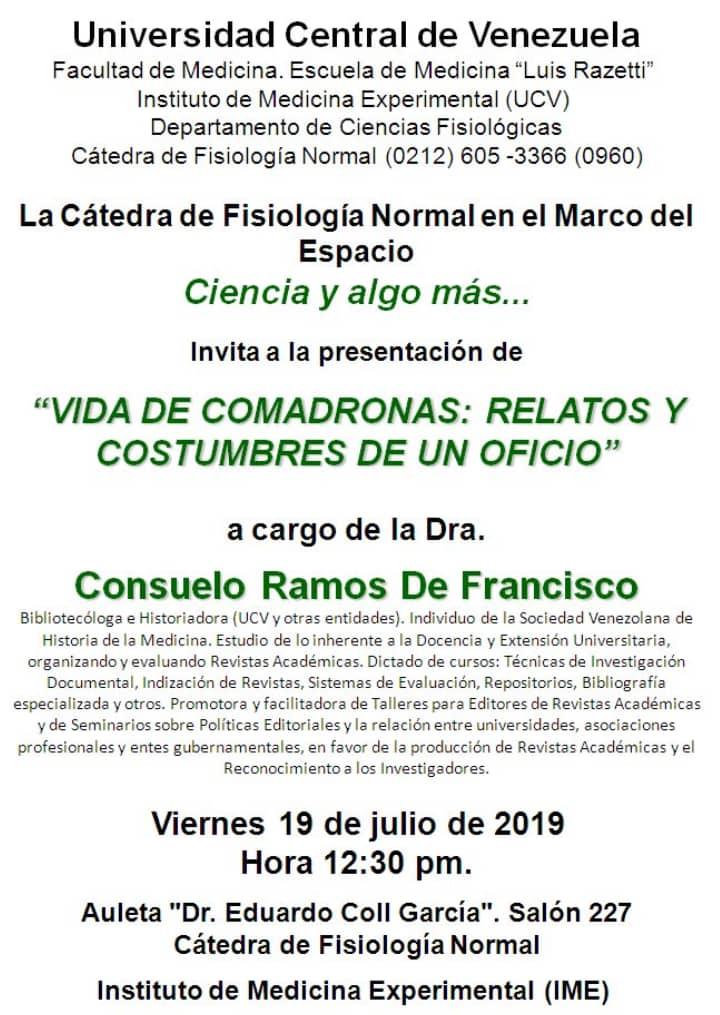 Vida de Comadronas: Relatos y Costumbres de un Oficio.