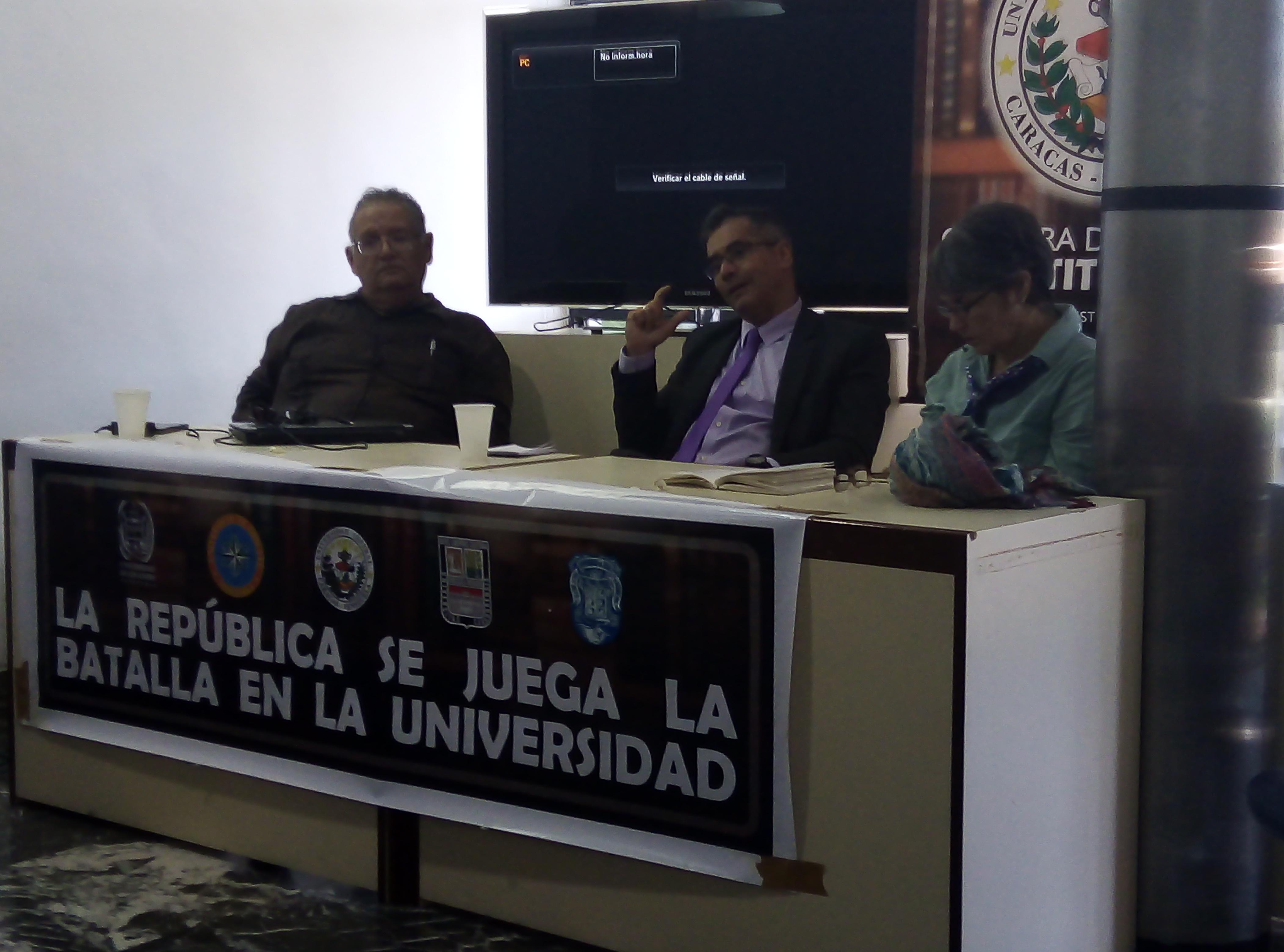 Charla y conversatorio: Análisis de la Sentencia 0324 del TSJ. Cómo afecta a la Universidad?