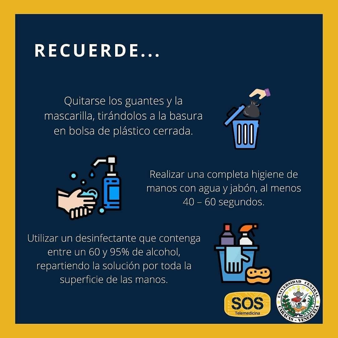 Consejos para un ambiente libre de Coronavirus