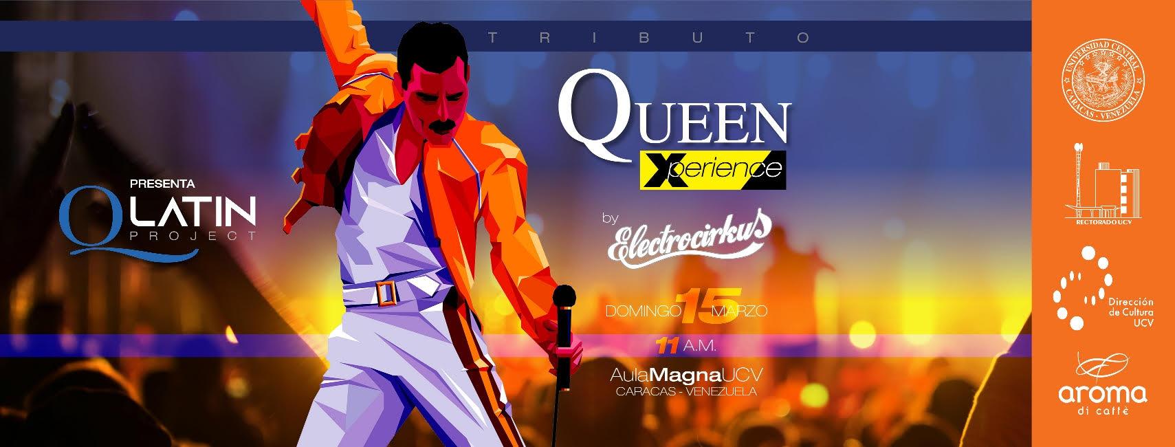 Tributo a Queen en el Aula Magna