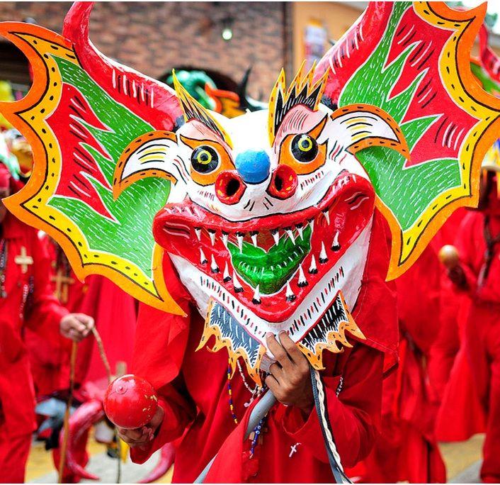 Los diablos danzantes de Yare, tradición religiosa venezolana