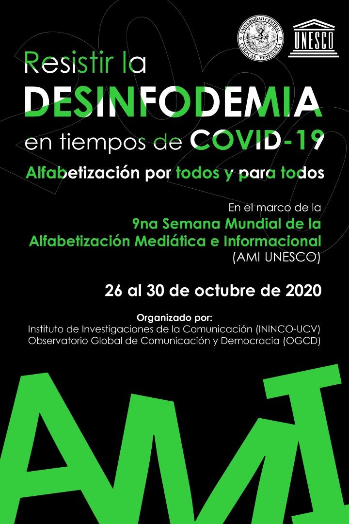 Evento: RESISTIR A LA DESINFODEMIA ENN TIEMPOS DE COVD-19