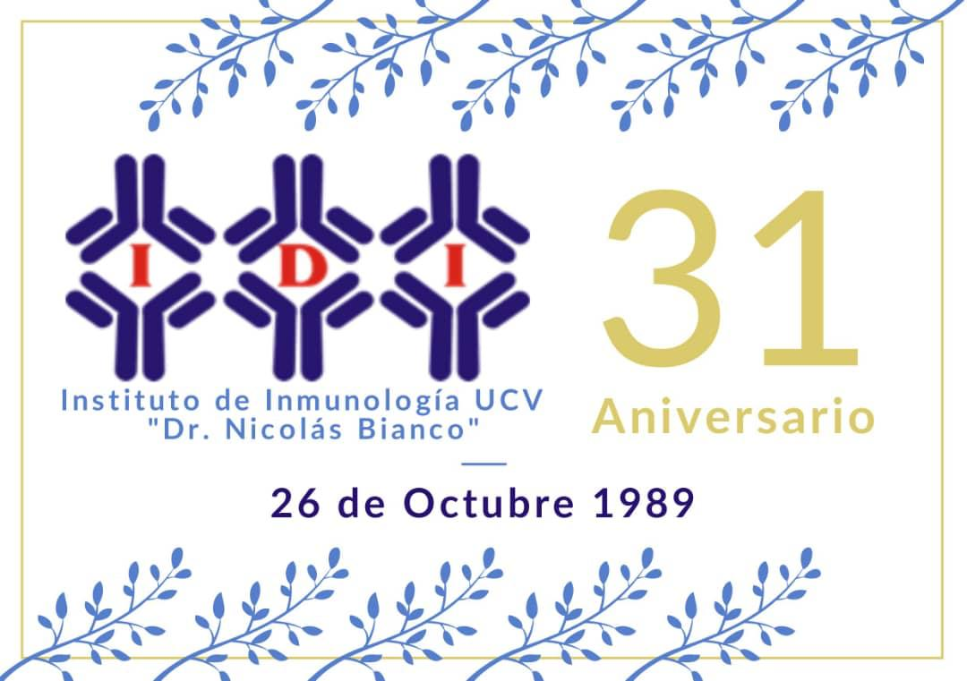 Instituto de Inmunología de la UCV. 31 años apoyando a la comunidad