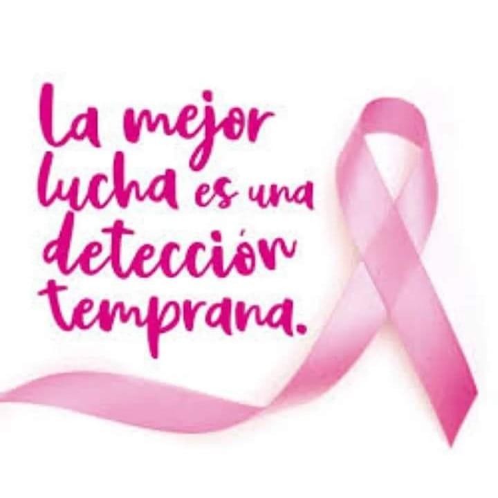 Octubre, mes dedicado a la lucha contra el Cáncer de mama