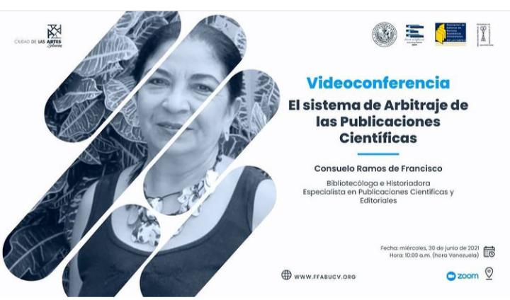 Videoconferencia El sistema de arbitraje de las publicaciones científicas